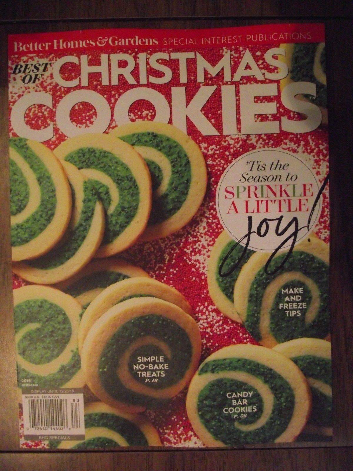 Best Of Better Homes Gardens Best Of Christmas Cookies 2018 83