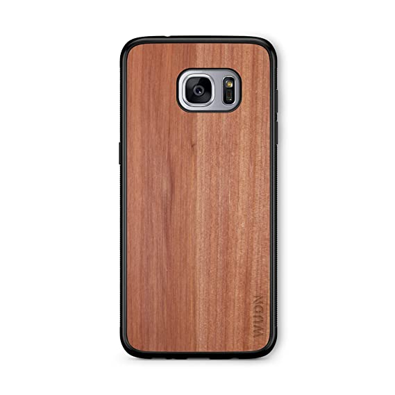 Wooden Phone Case Real Aromatic Cedar Compatible With Galaxy S7 Edge Samsung Galaxy S7 Edge