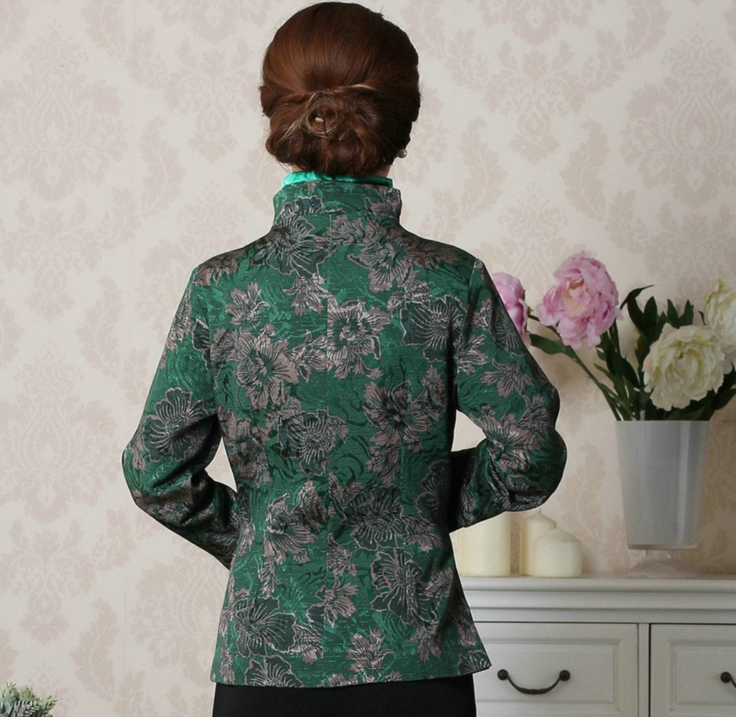Womens Tang Suits Chinese Style Coats Retro Jackets Full Dress Formal Dress Womens Jackets Business Jackets by Womens Tang Suit (Image #4)