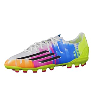 buy popular ff6d2 72db4 adidas F30 TRX AG Football Shoes Artificial Grass Shoe (Messi) Running  WhiteBlack