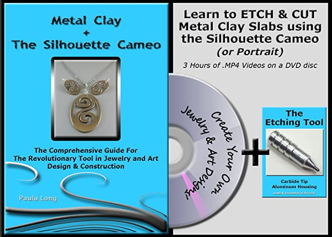 Amazon Bundle 2 Items Video Instruction Guide Metal Clay