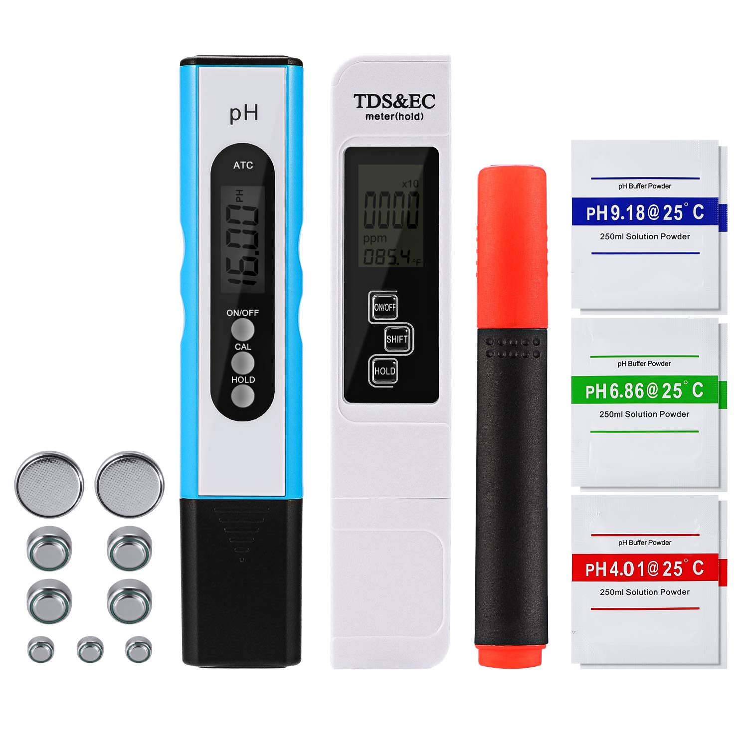Digital PH Meter Pocket-sized 3in1 High Accuracy Water Quality Tester Pen NEO