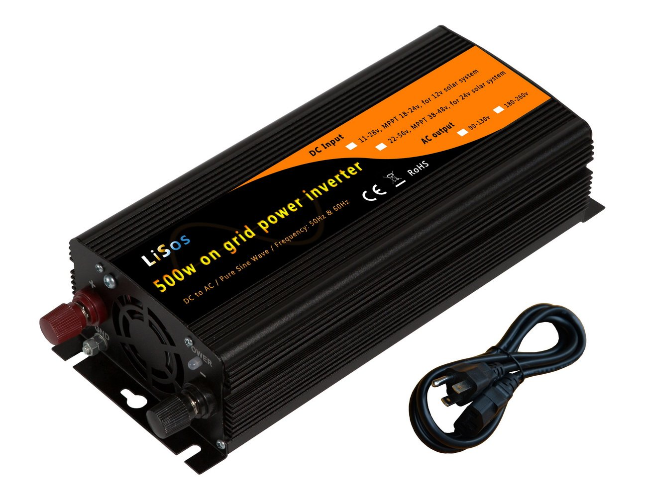 500w Solar Inverter Grid Tie Wiring Diagram Library 12 Volt To 220 Circuit Eleccircuitcom Amazoncom Power Pure Sine Wave Dc11 28v