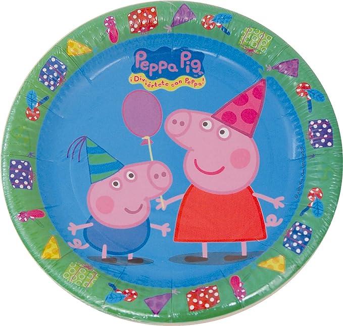 Set de 37 Piezas * Peppa Pig * para cumpleaños Infantiles o ...