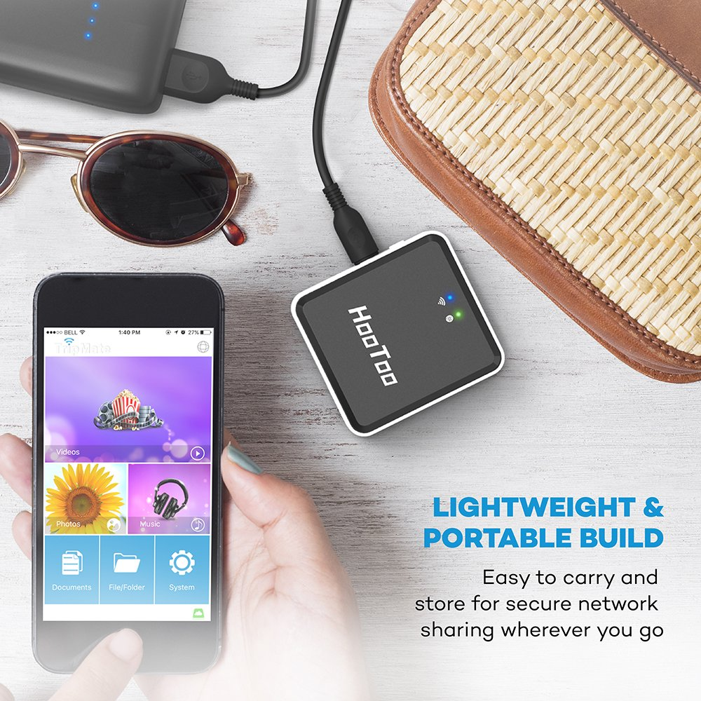 HooToo Wireless Travel Router, USB Port, N150 Wi-Fi Router, USB Powered, High Performance, Mini Router- TripMate Nano (Not a Hotspot) by HooToo (Image #3)