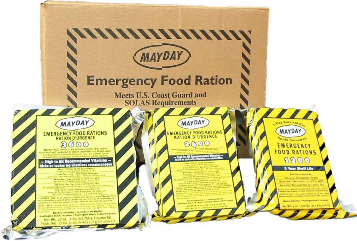 Mayday Industries 3600 Calorie Food Ration Bar