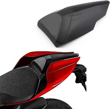 Artudatech Motorrad Soziusabdeckung Sitzkappe Verkleidung Heckabdeckung Rücksitzbezug Rear Seat Cowl Fairing Tail Cover Für Duca Ti 959 1299 Panigale 2015 2019 Auto