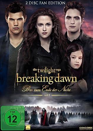 Breaking Dawn Bis S Zum Ende Der Nacht Teil 2 Fan Edition 2 Dvds