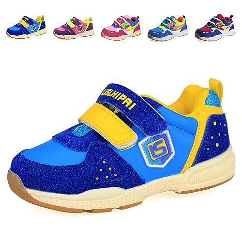 1cc6f1b9a Cior Kids Zapatos ortopédicos Saludable Suela Suave Antideslizante niños  Zapatillas Deportivas con Tobillera para niños y