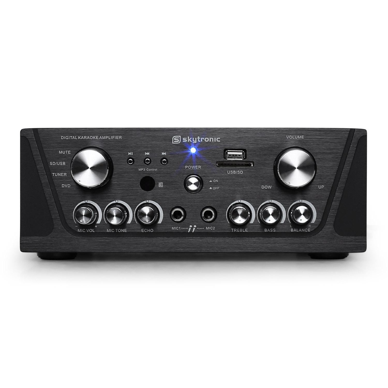MP3-USB-SD compacto Receptor HiFi Skytronic karaoke