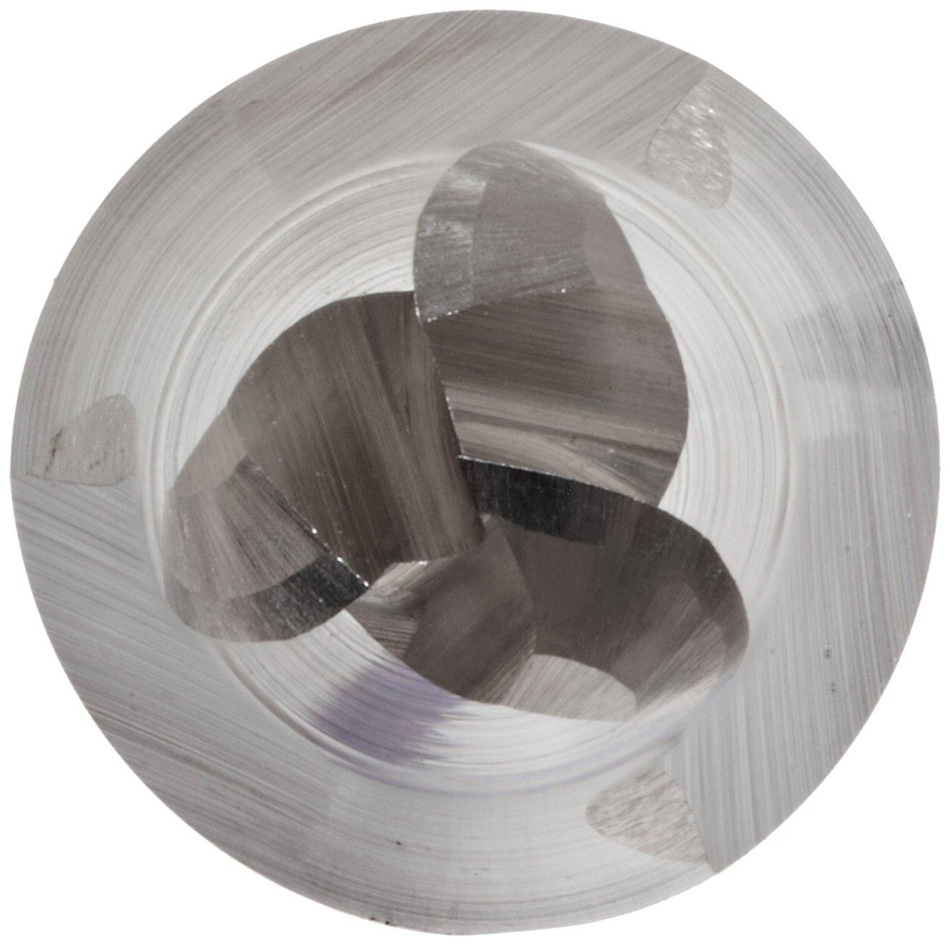 Melin Tool CCMG-M-M-L Carbide Square Nose End Mill Metric AlTiN Monolayer Finish 20mm Shank Diameter 127mm Overall Length 30 Deg Helix 20mm Cutting Diameter 4 Flutes