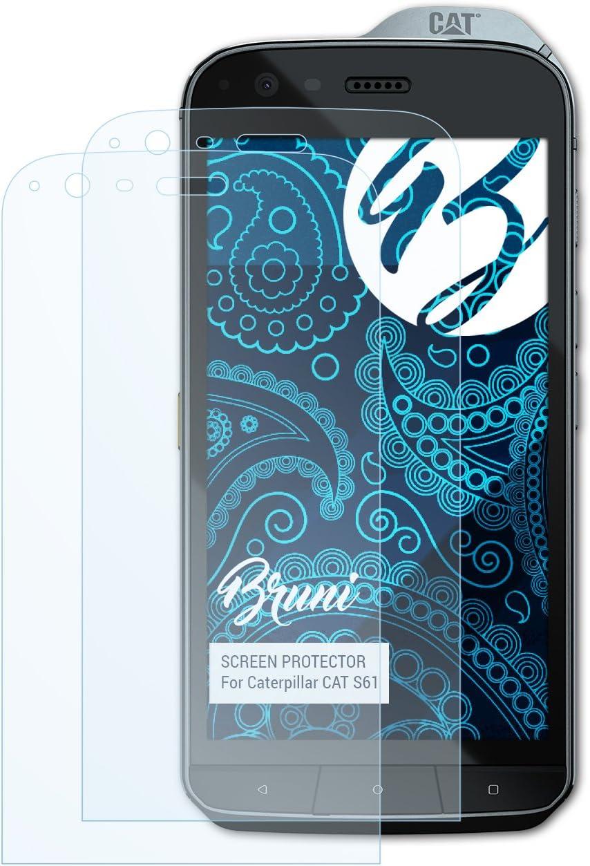 Bruni Película Protectora para Caterpillar Cat S61 Protector ...