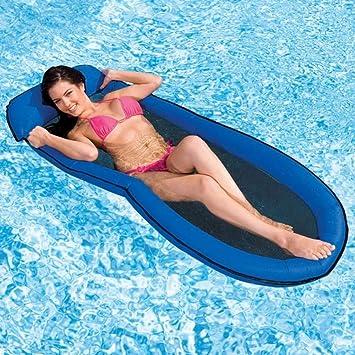 Trade Shop traesio Hamaca colchón Hinchable, Relax para Playa ...