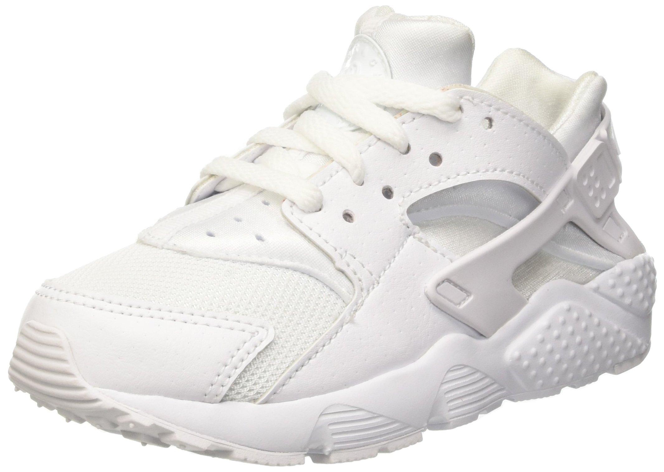 Nike Huarache Little Kids Running Shoes White/Pure Platinum 704949-110 (11.5 M US)