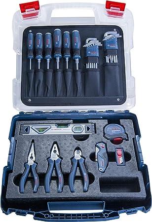 Bosch Professional 1600A016BW Set Herramientas de Mano, 25 cm, Azul: Amazon.es: Bricolaje y herramientas