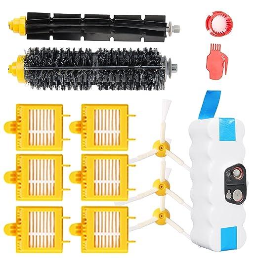 Yosahaw 14.4V 3800mAh batería de Repuesto + Kit de Reemplazo para ...