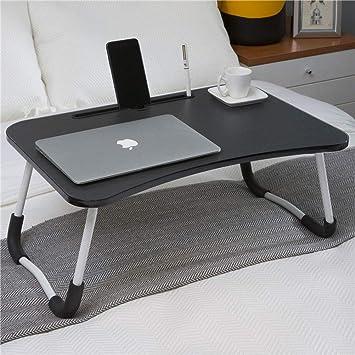 ZH Bases de portátiles Mesa de cama para computadora portátil ...