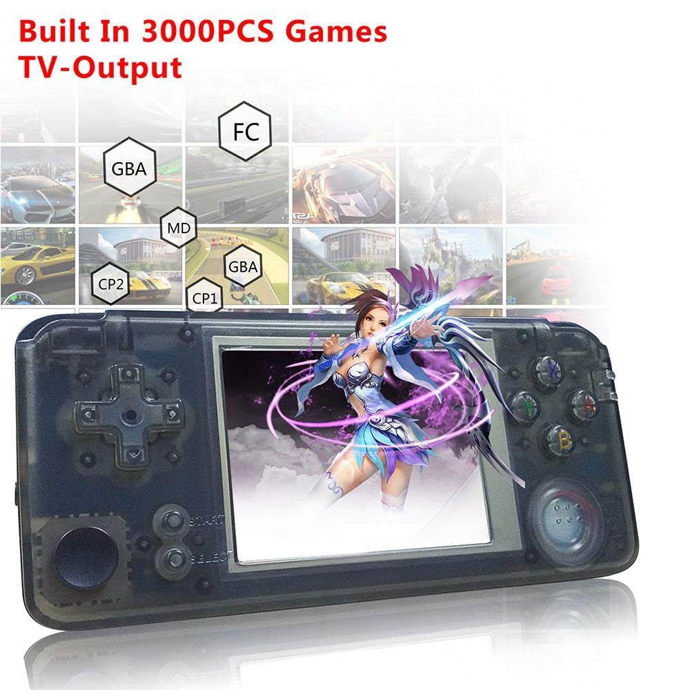 Retro Handheld Game Console With Built In 3000 Classic Gamesdual Core 16g Emulator 30 Fc Tv Support Game Playerportable Video Games Console For