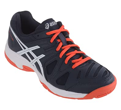 6643edff82794f ... ASICS Unisex Kids Gel-Game 5 Gs Tennis Shoes ...