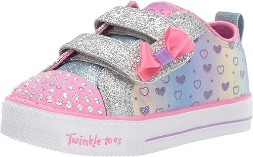 Fracaso George Hanbury Descanso  Skechers Shuffle Lite - Brillante, Corazones Tenis para Bebé-Niñas:  Amazon.com.mx: Ropa, Zapatos y Accesorios