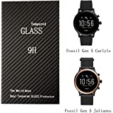 Fossil Gen 5 Carlyle Julianna Screen Protector,Smooth Glass Touch,9H Harder,High Transparency,Anti-Scratch,No Bubble…