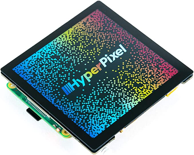 Pantalla de Alta resoluci/ón para Raspberry Pi HyperPixel 4.0 Square No t/áctil