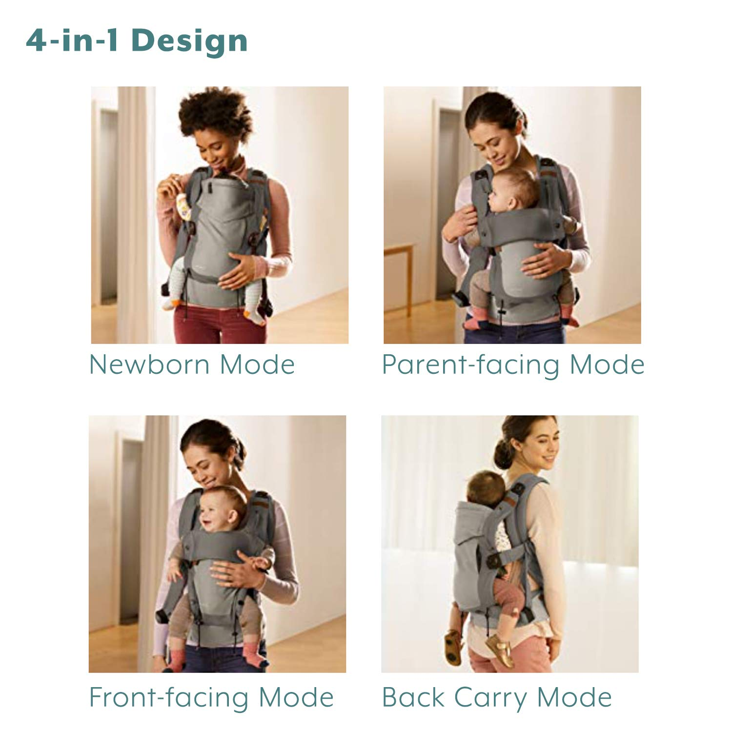 Amazon coupon code for Baby Holder Carrier with Four Modes