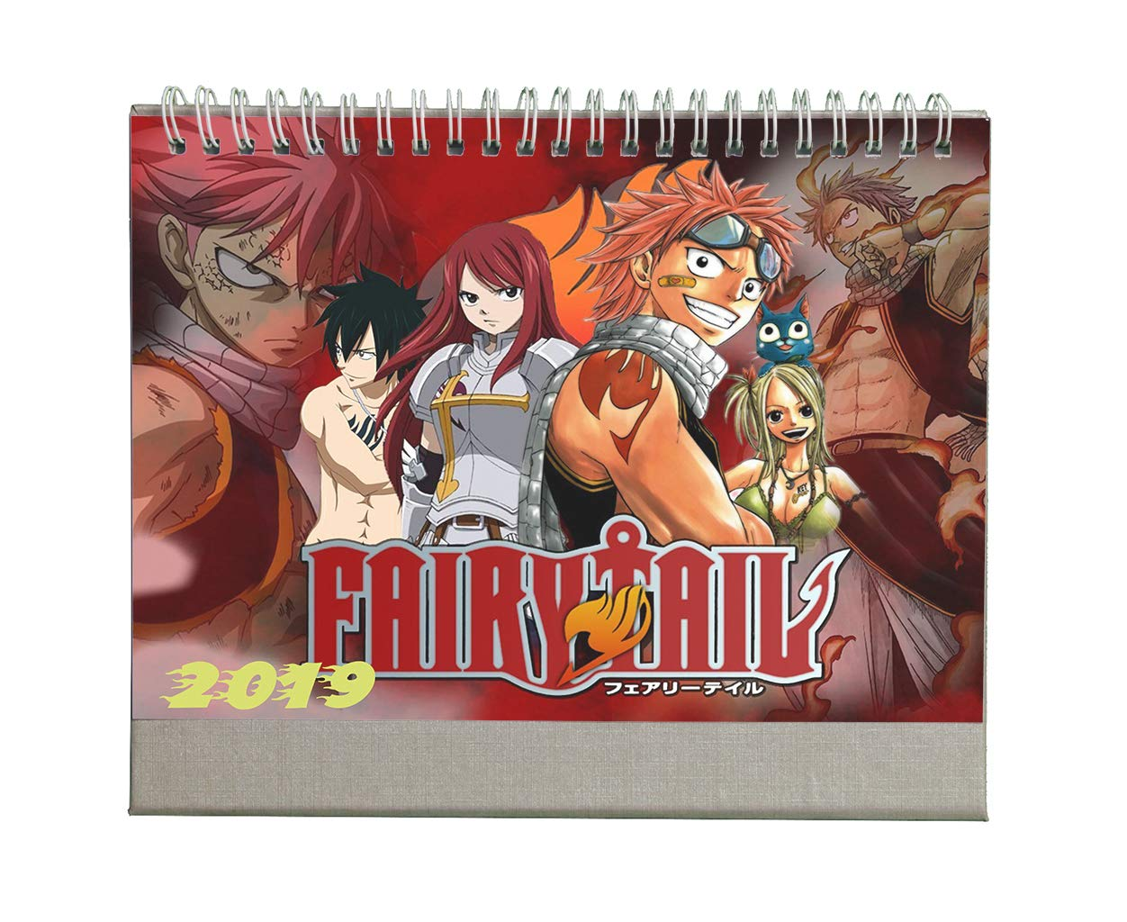 Fanstown Animation calendar 2019 collective edition desk calendar personalize style avaliable by Fanstown