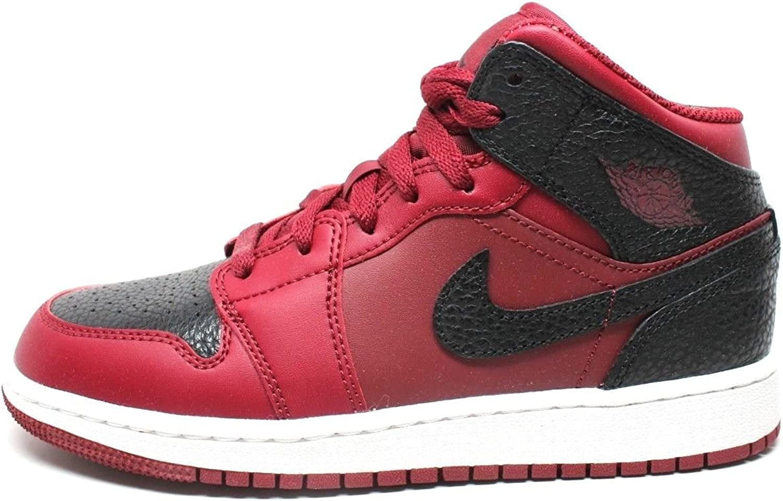 scarpe nike air jordan 1 mid rosse