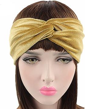 Soft Red Headband Stretchy Head Band Adjustable Girls Hairband Headwrap