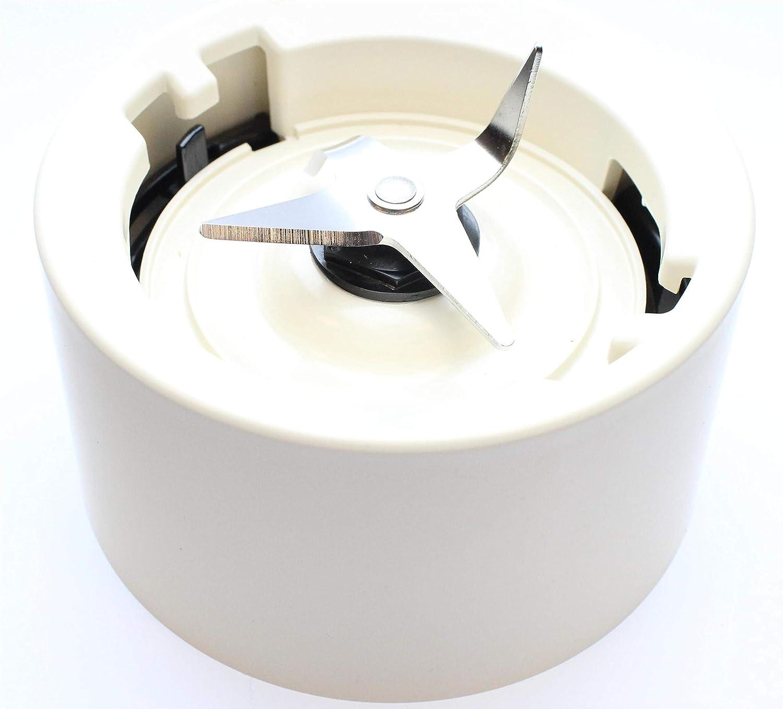 Base de jarra con cuchillas para batidoras KitchenAid color crema de almendra (modelos KSB555, KSB565, etc).: Amazon.es: Hogar