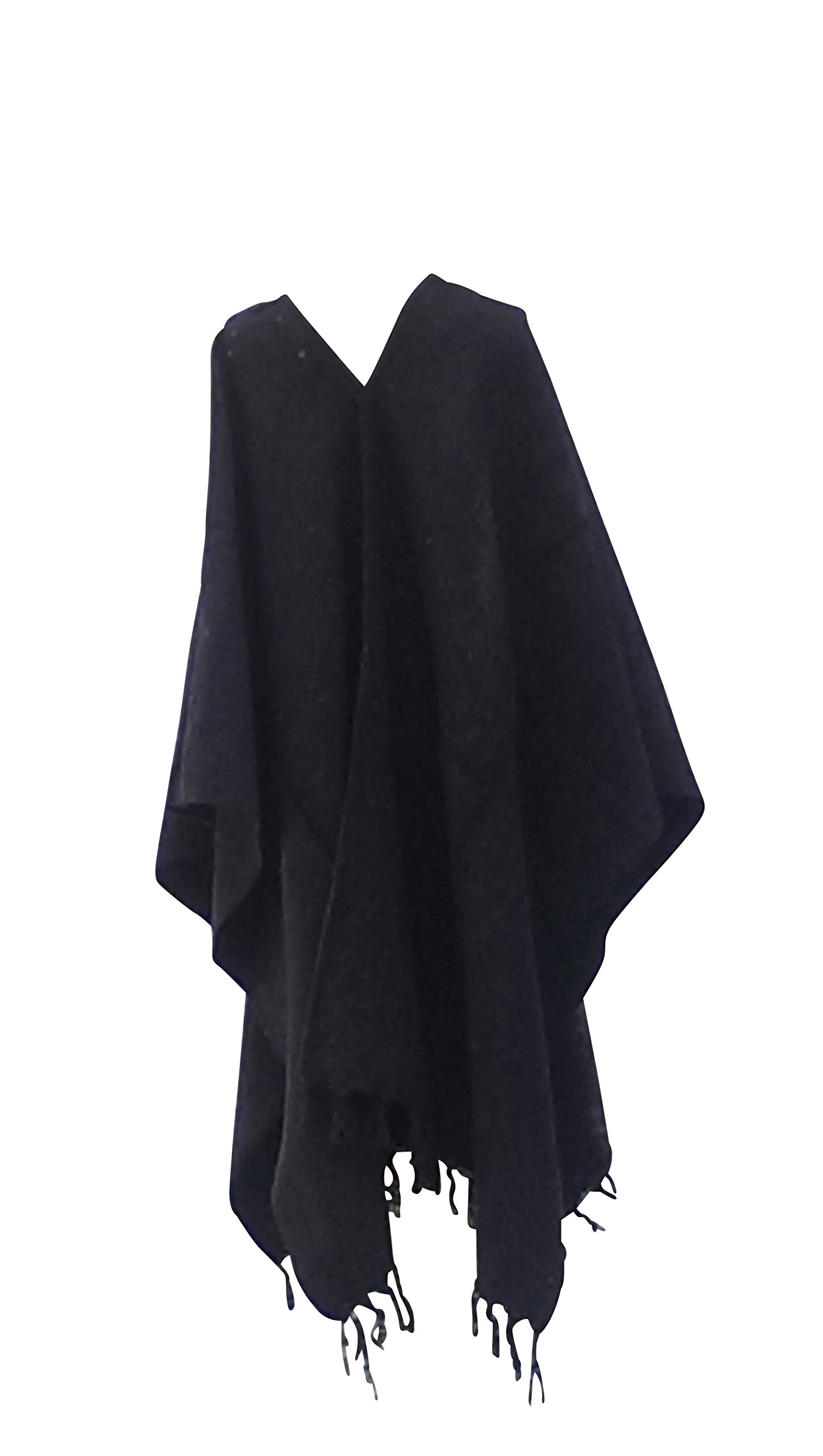 Sharpshooter Clint Eastwood Style Texmex Spaghetti Western Designer Party Black Poncho