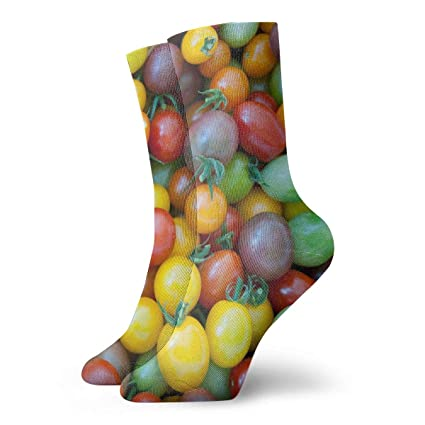 Amazon.com: WEEDKEYCAT Colorful Varieties Tomato Adult Short ...