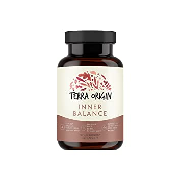 Terra Origin, Healthy Inner Balance Stress Relief Supplement, Capsules, 30  Servings, with Rhodiola