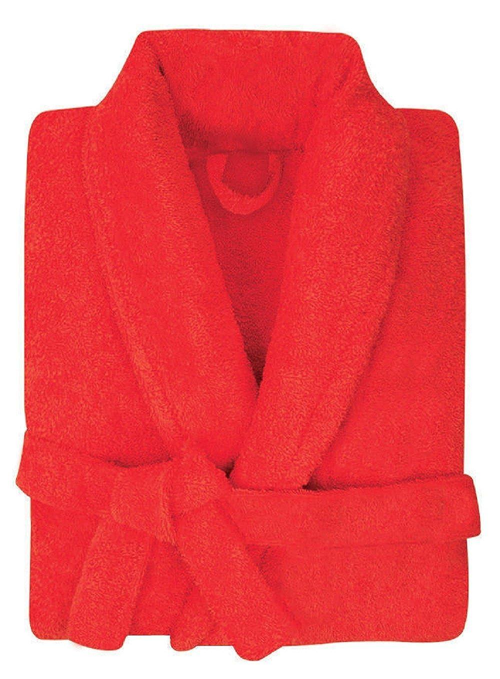 Ladies/Mens Luxury 100% Cotton Towelling Bath Robe Dressing Gown Wrap Nightwear