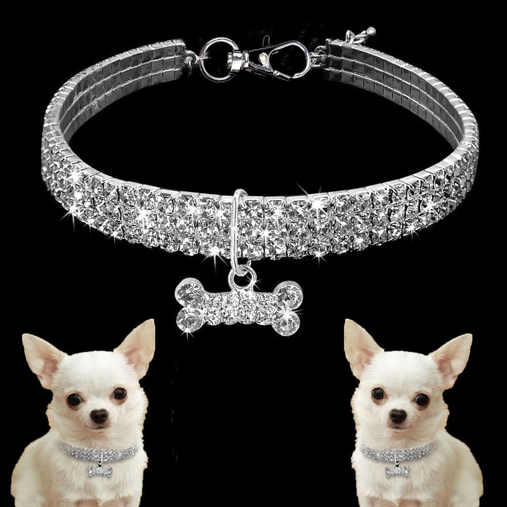 Mini Pet Rhinestone Collar ONL...