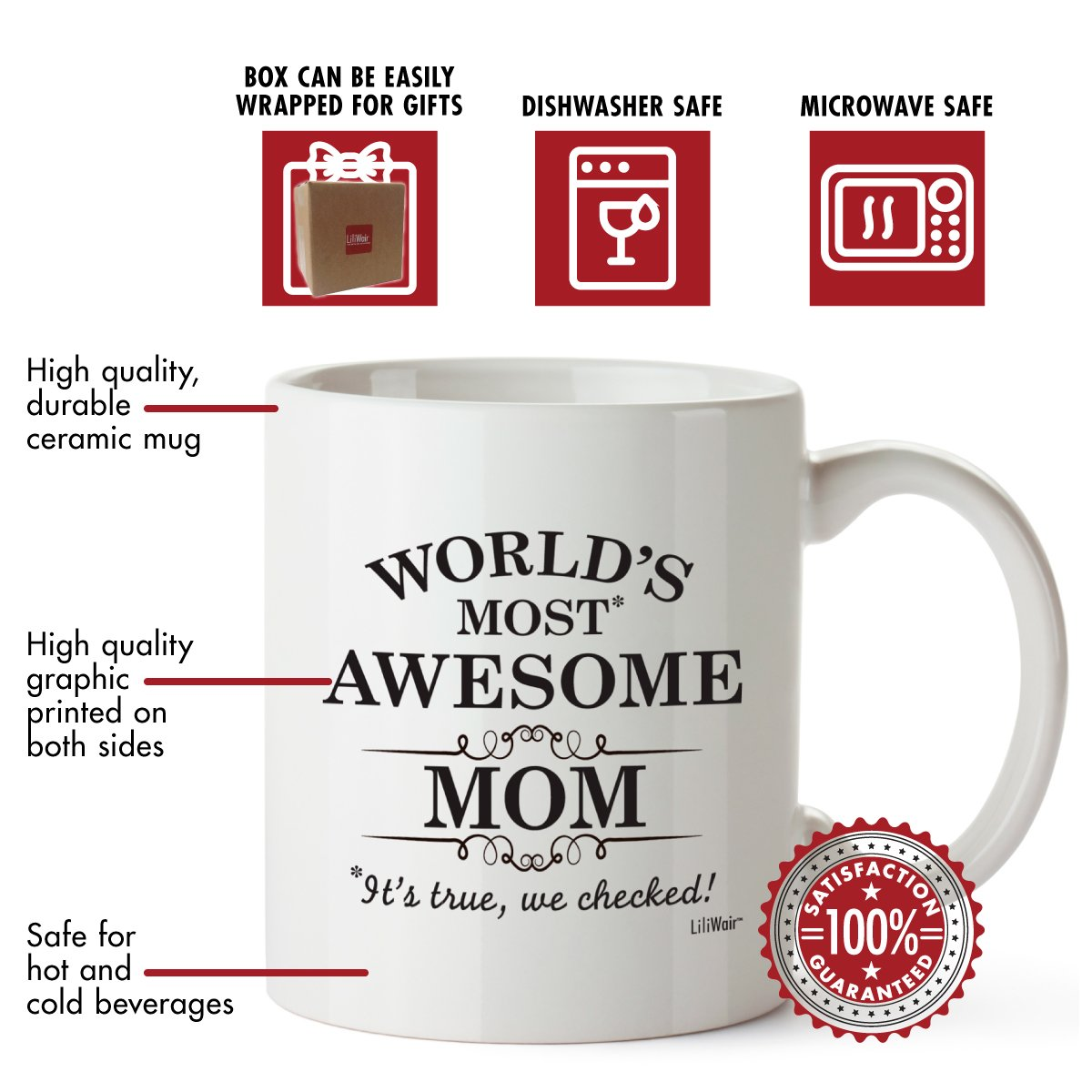 Amazon.com: Mothers Day Gift Funny Mom Gifts For Mommy Best Birthday ...