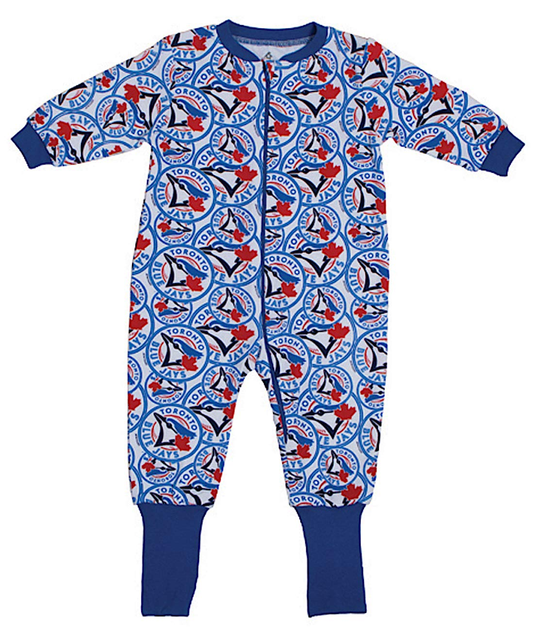 MLB Toronto Blue Jays Toddler Covert A Foot Sleeper 12 Months