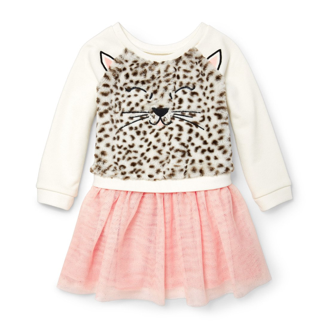 The Childrens Place Baby Girls Animal Knit Dress
