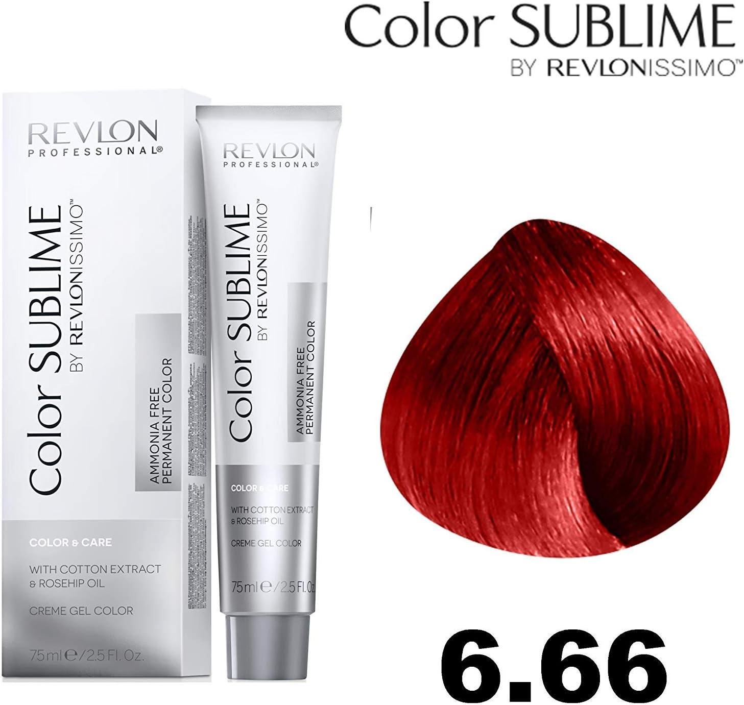 Revlonissimo Color sublime 75 ml, Color 6.66: Amazon.es: Belleza