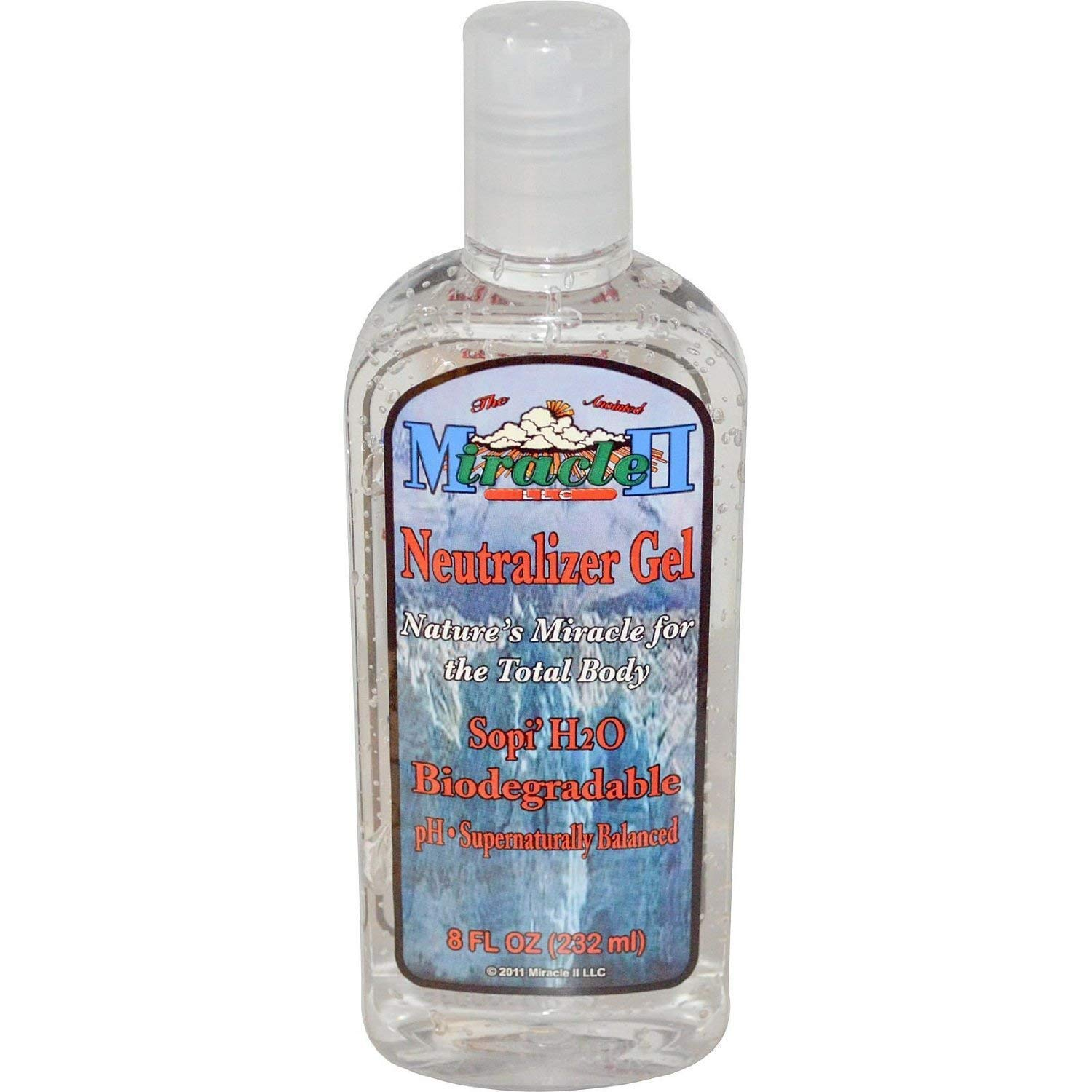 Miracle II Neutralizer Gel/Toner 8 Oz (for Face & Body) (Miracle 2)