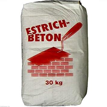 30kg Estrichbeton 0 33 Kg Fertigbeton Beton Trockenmortel Kein