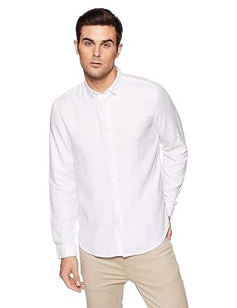 1d15c854fce7 BLACKBERRY URBAN Mens Self Pattern Regular Fit Casual Shirt: Amazon ...