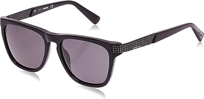 Diesel Sonnenbrille Schwarz