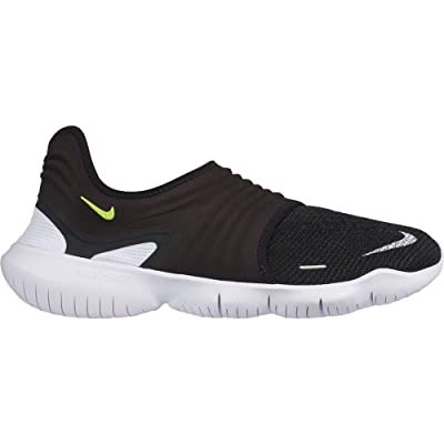 Nike Free RN Flyknit 3.0 [AQ5707-001] Men Running Shoes Black/Volt/US 11.5   Fashion Sneakers