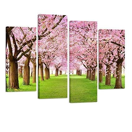 Amazon Com Kreative Arts 4 Pieces Large Cherry Blossom Trees