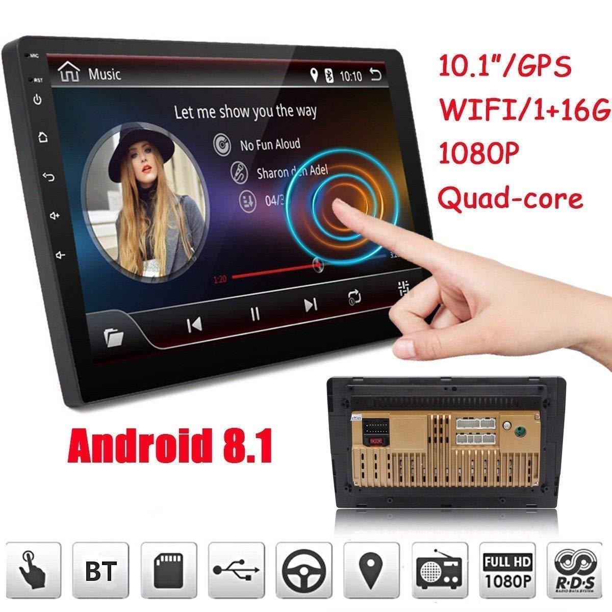 "Radio Eonon Octa Core Android Double DIN 10.1/"" Car Stereo GPS Sat-Nav OBD2 DAB"