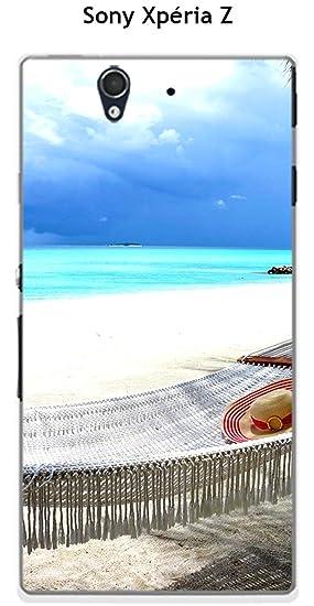 Onozo Carcasa playa & hamaca para Sony Xperia Z: Amazon.es ...