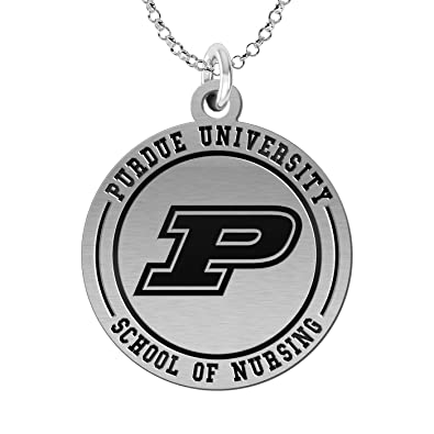 Amazoncom Purdue University School Of Nursing Charm Jewelry