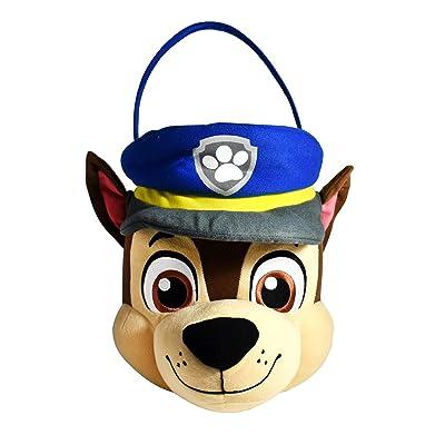 Paw Patrol Chase Jumbo Plush Basket: Toys & Games
